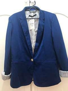 Plus Size Premium Zara Blue Blazer