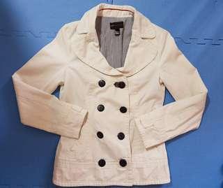 Mango White Jacket