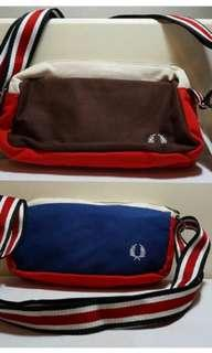 NEW Fred perry pouch