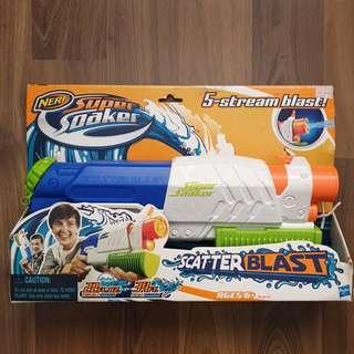Nerf Scatter Blast Super Soaker 5 Stream Blast!