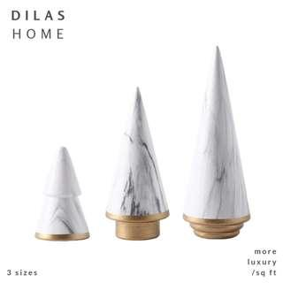 DILAS HOME | Gold Marble Nordic Ring Holder Decor Ornament