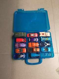 Hotwheels Cars with Carry Box