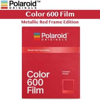 🚚 Polaroid Originals Color Film for 600 Red Frame Edition