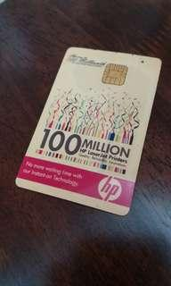 Cash card  HP 100 millionth laser printers. Feel free to drop an offer thanks.