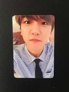 Exo Baekhyun Exodus Photocard