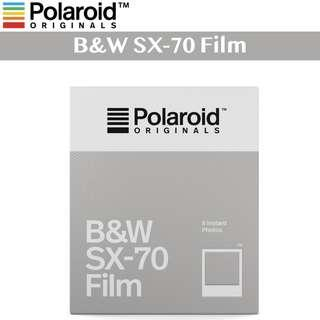 🚚 Polaroid Originals SX 70 Black and White B&W Instant Film for SX-70