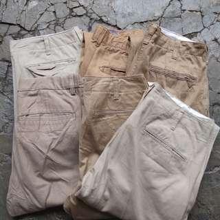 Celana chino borongan