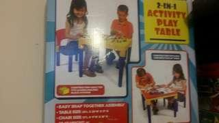 二手Activity play table2合1