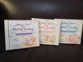 Music box for mother &baby