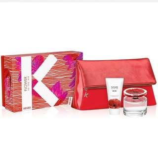 Kenzo Flower in the Air 3pc Giftset EDP