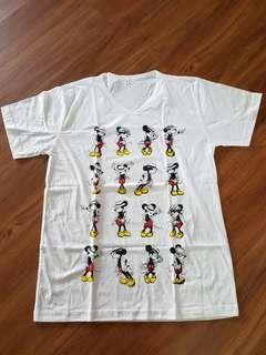Woman Mickey cartoon tee / t shirt