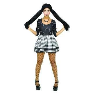 (Hot Sales)Broken Doll Costume Cosplay(Big Discount)