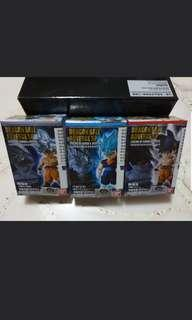 Dragonball ADVERGE Legend of goku set of 3
