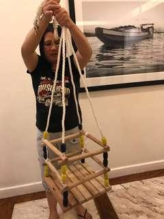 Never used baby swing. Made of wood very good quality.