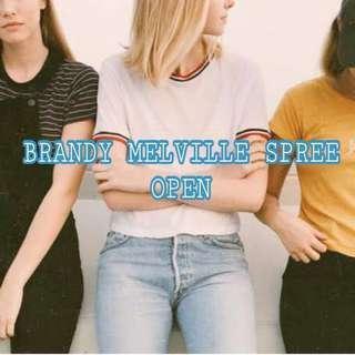 Brandy melville spree open
