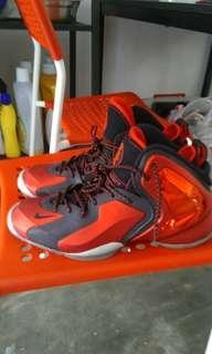 Nike lil penny posite university red