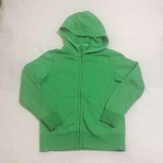 Uniqlo Green Hoodie