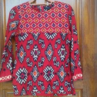PARCA Apparels Batik Top #DeclutterWithJohanis