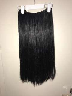 Hidden Crown jet black 20inch extensions