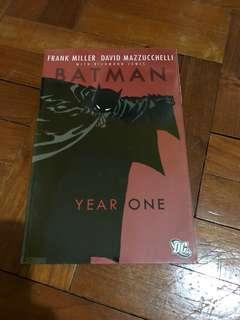 DC comics Batman year one