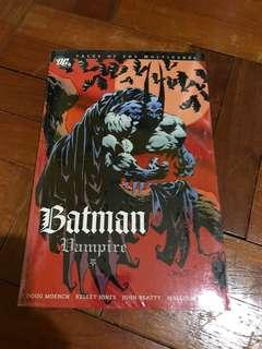 DC comics Batman Vampire