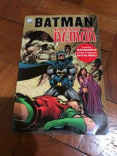 DC comics Batman tales of the demon