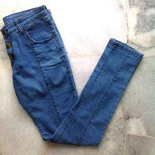 H&M Jeans #DeclutterWithJohanis