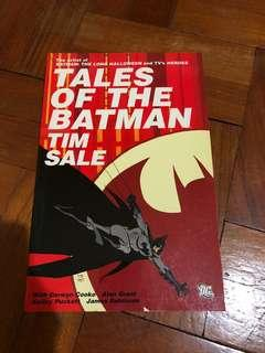 DC comics Batman Tales of the Batman Tim Sale