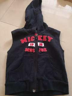 Mickey mouse sleeveless Jacket