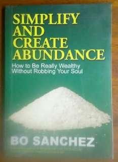 Simplify And Create Abundance (Christian book)