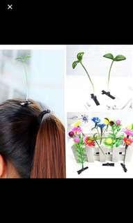 Hair sprouting Hair Clip