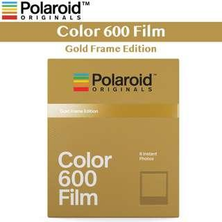 🚚 Polaroid Originals Color Film for 600 Gold Frame Edition