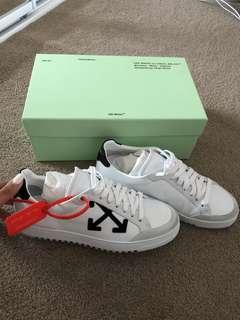 Off- white Arrow Sneakers
