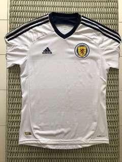 Adidas 💯% Authentic white Scotland away jersey for SGD$42 (size S)