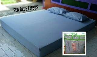 set bedcover sprei