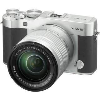 Kredit kamera mirrorless Fujifilm Xa3, Free 1x cicilan