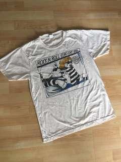 Kurt Cobain Courtney Love Nirvana Tshirt