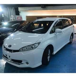 正2010年式 新款Toyota Wish  2.0 HI高階定速版 別懷疑只賣22.8萬