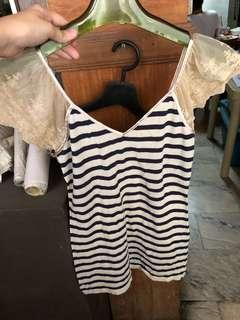 Guess striped top