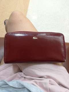 Lacoste long wallet