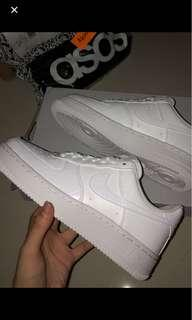 Nike Air Force 1 with Snakeskin Trim