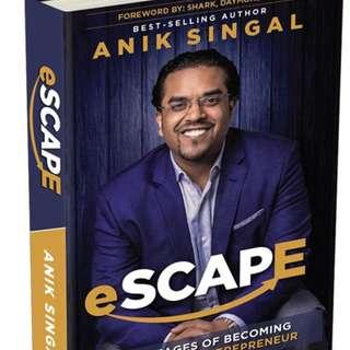 Anik Singal Escape (physical book)