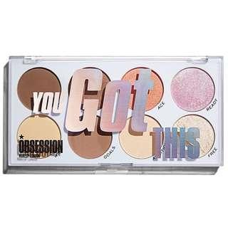 You Got This Face Palette | Obsession Makeup by Revolution Beauty UK Drugstore Cosmetics