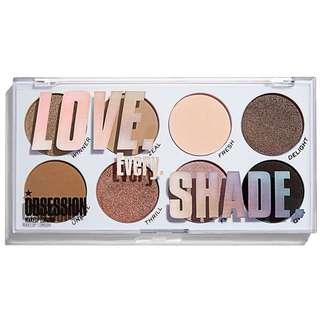 Love Every Shade Eyeshadow Palette | Obsession Makeup by Revolution Beauty UK Drugstore Cosmetics