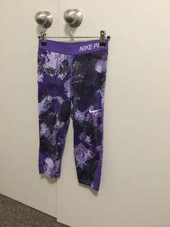 Purple dri fit Nike leggings