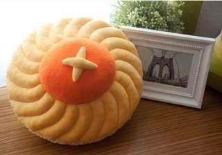 Pineapple tart cushion (nom nom plush)