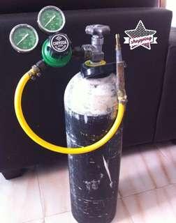 $300 Oxygen Cyclinder size 14AL with Chiyoda Valve
