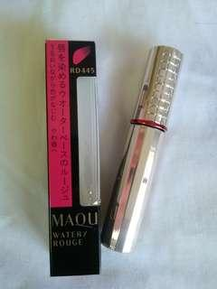 Shiseido MAQuillAGE Watery Rouge RD445 (Clever Red) 6gm Full size