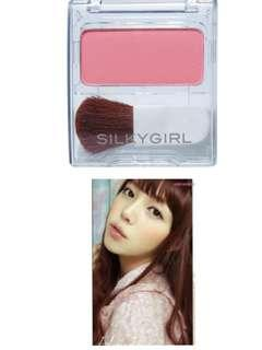 🌹LOVELY ROSY CHEEKS TO MELT EVERYONE'S HEARTS!! 🌹SilkyGirl Blush Hour - 03 Flash Rose 3.8g