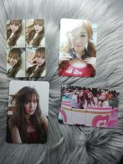 Tiffany and TaeTiSeo TTS Official Photocard